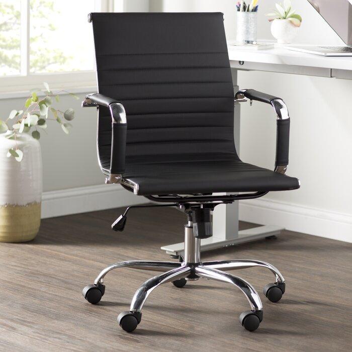 size 40 2ebd9 43766 Wayfair Basics High-Back Desk Conference Chair