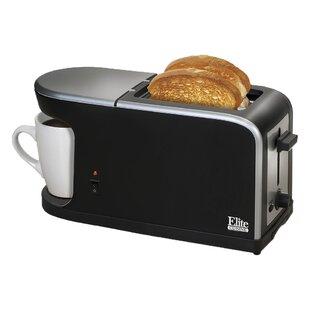Cuisine 2-in-1 Dual Function Breakfast Station Coffee Maker