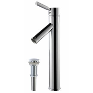 Top Reviews Sheven Single Hole Bathroom Faucet with Drain Assembly ByKraus