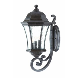 Buy clear Prestbury 3-Light Outdoor Sconce By Charlton Home