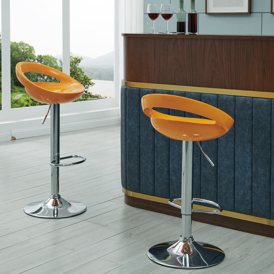 Orange Bar Stools Counter Stools You Ll Love In 2020