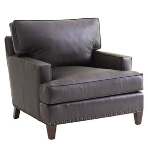 Zavala Hughes Leather Club Chair by Le..