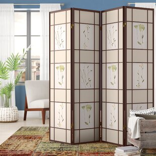 Reyansh 4 Panel Room Divider By World Menagerie
