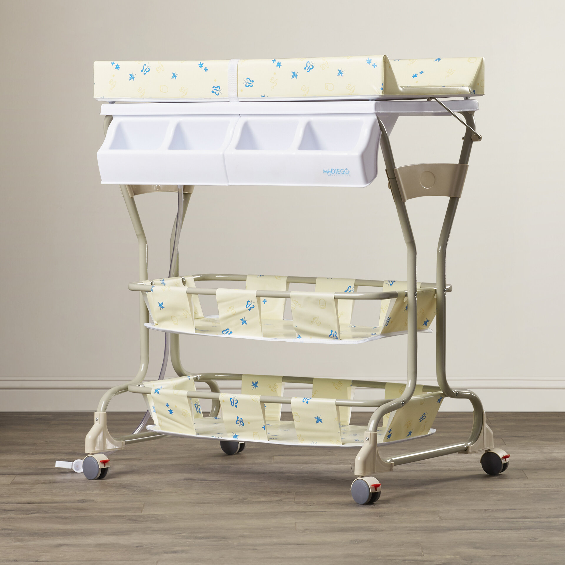 Gentil Baby Diego Bathinette Deluxe Bathtub And Changer Combo U0026 Reviews | Wayfair