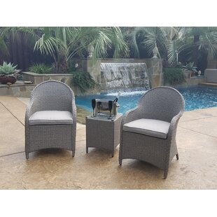 Eliana 3 Piece Conversation Set With Cushions