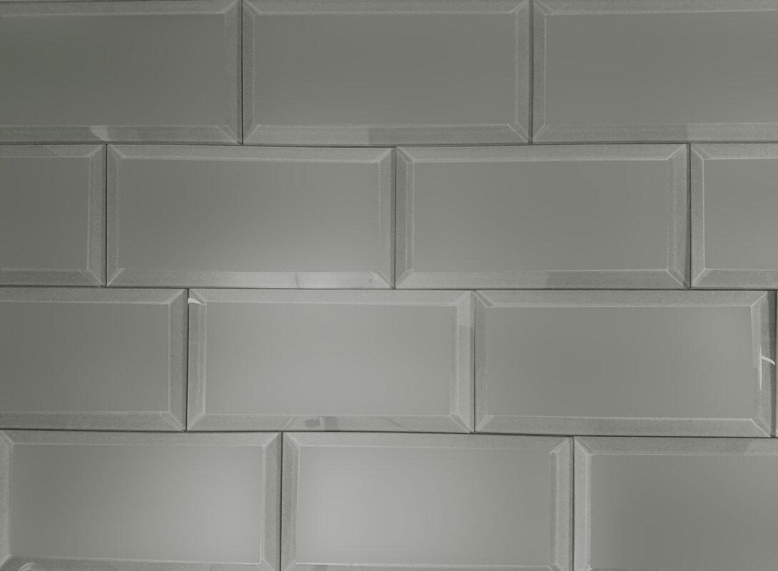 Abolos frosted elegance 3 x 6 glass subway tile in matte gray frosted elegance 3 x 6 glass subway tile in matte gray dailygadgetfo Gallery