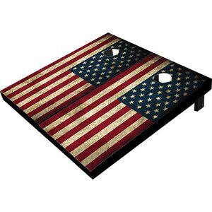 American Flag Cornhole Board (Set of 2)