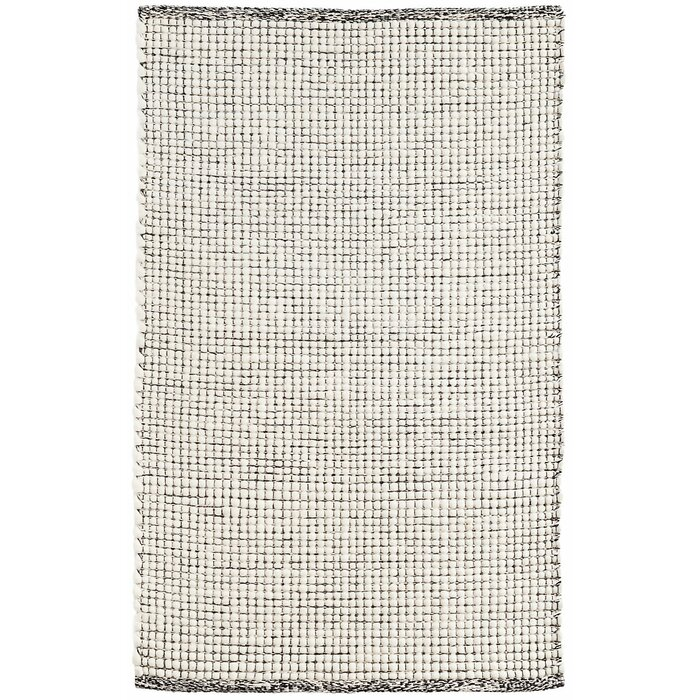 Network Hand Woven Black Area Rug