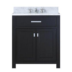30 bathroom vanity with sink and drawers. Raven 30  Single Bathroom Vanity Set with Ceramic Sink Modern Inch Vanities AllModern