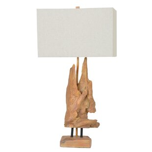 Shop for Kyleigh Driftwood 28.5 Table Lamp By Highland Dunes