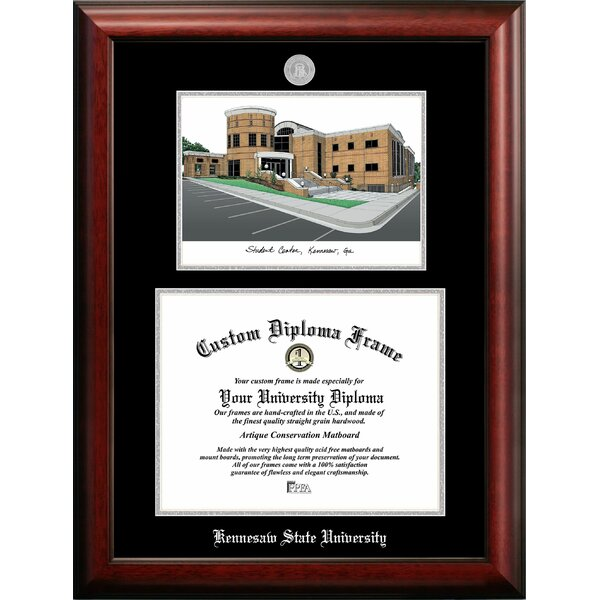 Campus Images Kennesaw State University Picture Frame Wayfair