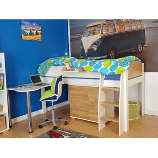 Norfolk Single Mid Sleeper Bed with Storage by Kids Avenue