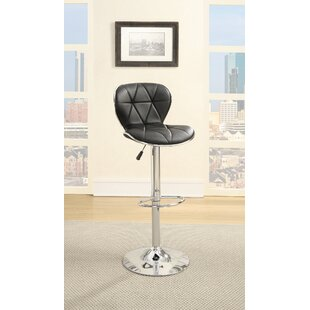 Inexpensive Credle Adjustable Height Swivel Bar Stool (Set of 2) by Orren Ellis Reviews (2019) & Buyer's Guide