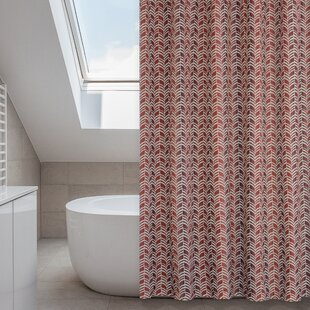 Red Shower Curtain Liners