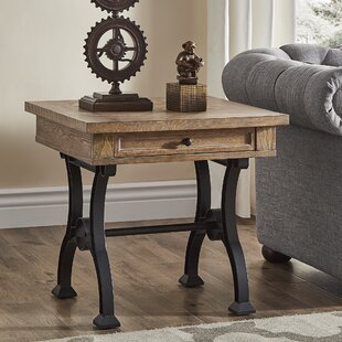 Luevano Antique End Table by Gracie Oaks