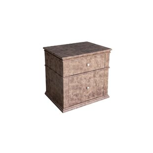Reviews Ahmed 2 Drawer Nightstand by 17 Stories
