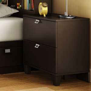 south shore karma 2 drawer nightstand