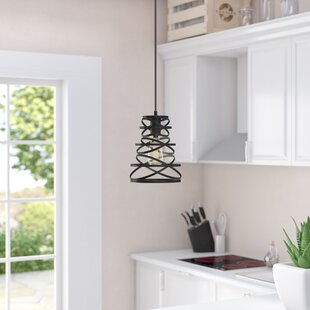 Coupon Reinke 1-Light Cone Pendant By Wrought Studio