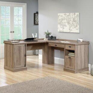 Bowerbank 3 Drawer L-Shaped Executive Desk