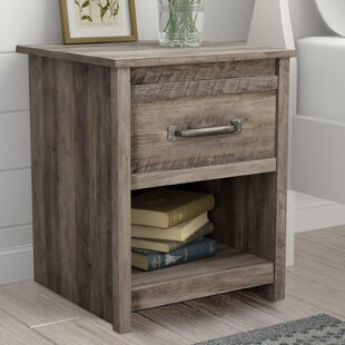 Millom 1 Drawer Nightstand by Three Posts