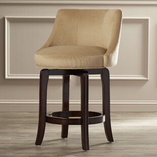 Reviews Grandwood 25.25 Swivel Bar Stool by Darby Home Co