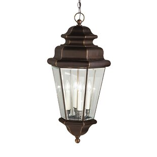 Comparison Bigley 4-Light Outdoor Hanging Lantern By Darby Home Co