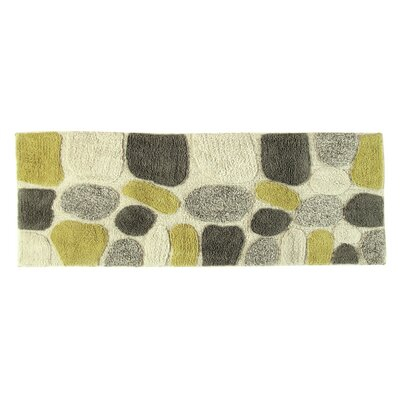 Ebern Designs Creline Bath Rug Color: New Willow
