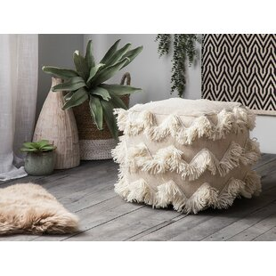 Mcentire Pouf by Bungalow Rose