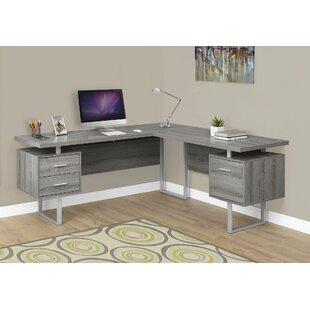 Dark Brown Corner Desk | Wayfair
