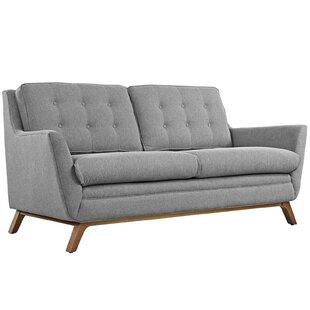Strange Bauman Loveseat Bralicious Painted Fabric Chair Ideas Braliciousco