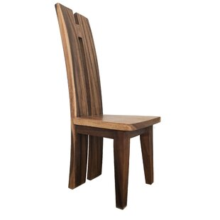 Cummins Solid Wood Dining Chair Union Rustic