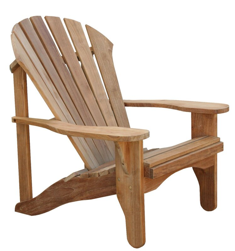 Avondale Solid Wood Adirondack Chair