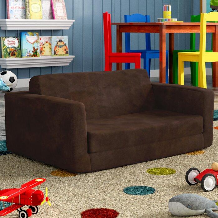 Fabulous Giancarlo Flip Kids Sofa Evergreenethics Interior Chair Design Evergreenethicsorg