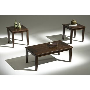 Inexpensive Hudson Yards 3 Piece Coffee Table Set ByAlcott Hill
