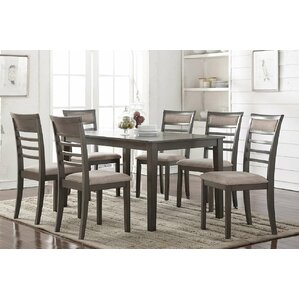 Edouard 7 Piece Dining Set by Gracie Oaks