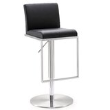 Blagg Adjustable Height Swivel Bar Stool by Wade Logan®