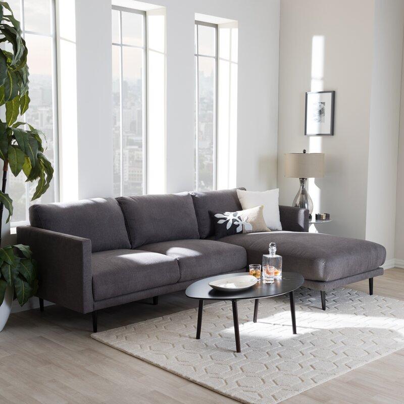Apartment Size Sectional | Wayfair