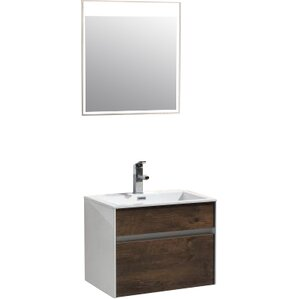Brockman 24  Single Bathroom Vanity Set Modern Vanities Cabinets AllModern