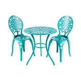 Lemus Sunflower 3 Piece Bistro Set