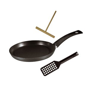 Specialty 3 Piece Non-Stick Crepe Pan Set