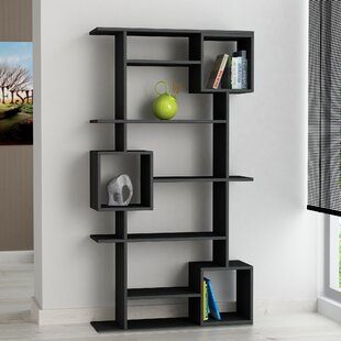 Reviews Hillary Modern Standard Bookcase by Wrought Studio