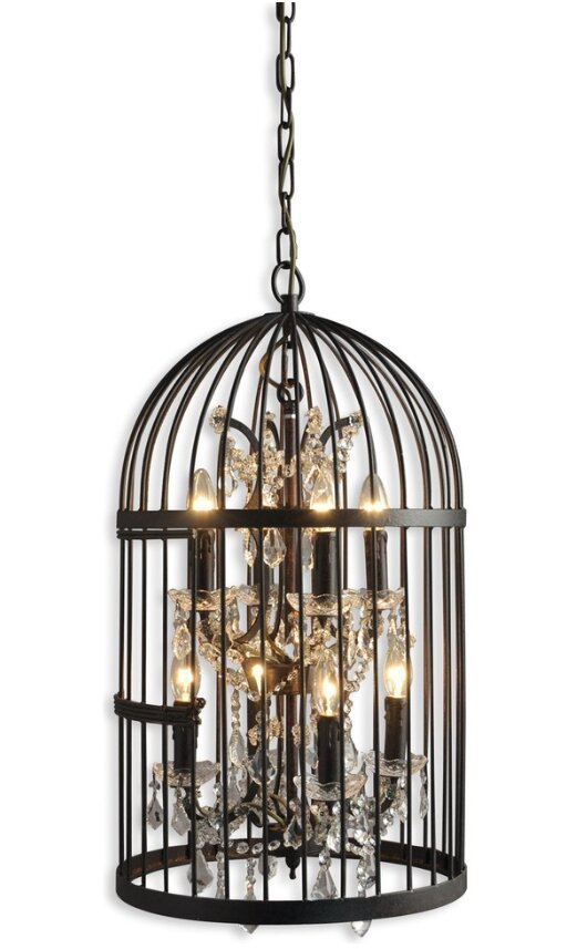 Ketter Birdcage 8 Light Foyer Lantern Pendant Wayfair