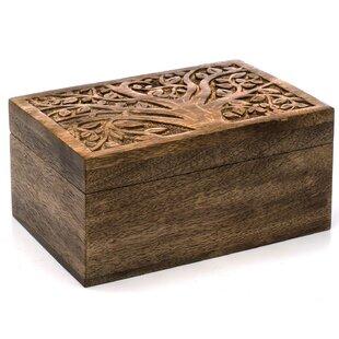 Look for Fordham Mango Wood Jewelry Box ByBloomsbury Market