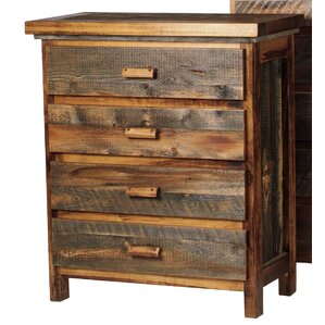 The Wyoming Collection?� 4 Drawer Standard Chest by Mountain Woods Furniture