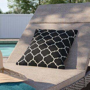 Cloverdale Repeating Moroccan Outdoor Throw Pillow