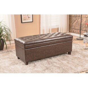 Upholstered Storage Bench by Bellasario Collection