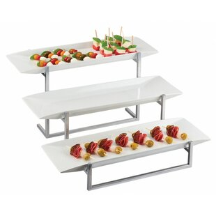 3 Tiered Wooden Serving Tray Wayfair