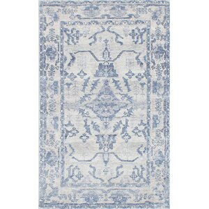Monterey Hand-Knotted Blue/Gray Area Rug