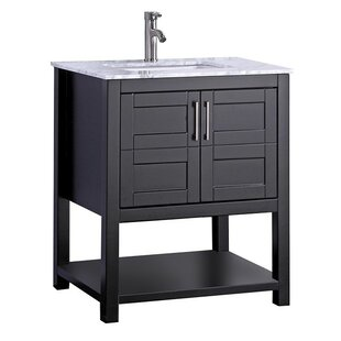 Mallouk Modern 30 Single Bathroom Vanity Set by Ivy Bronx