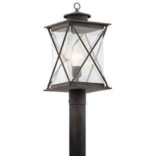 Kersey 1-Light Outdoor Post Light By Loon Peak Outdoor Lighting